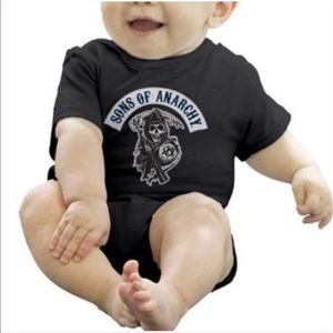 Sons of Anarchy Reaper Snapsuit Size 6M